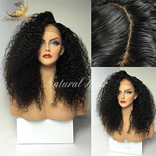 Dream Beauty Lace Frontal Wig Pre Plucked Bleached Knots 180% Full Density Lace Front Human Hair Wigs For Black Women with Baby Hair by Dream Beauty
