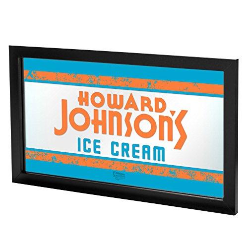 Johnsons Cream Howard Ice (Howard Johnson Ice Cream Framed Logo Mirror)