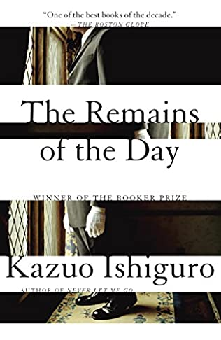 book cover of The Remains of the Day