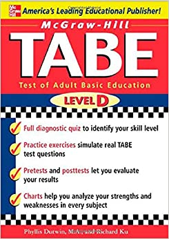 McGraw-Hill's TABE Level D: Test of Adult Basic Education: The ...
