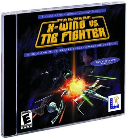 Star Wars X Wing Vs Tie Fighter Jewel Case Pc Amazon Com