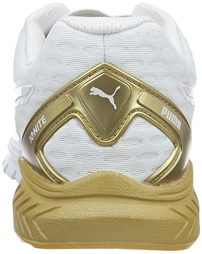 Puma Ignite Dual Wn's - Zapatillas de deporte Mujer Blanco / Oro