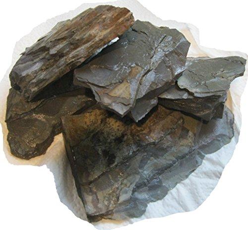 Aquarium Safe Natural Stone Slate And Shale Aquascape - Terrarium Stones