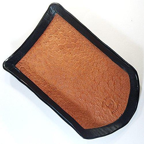 Custom One of a Kind Hand Molded Leather Valet Tray by Bad Love Leather