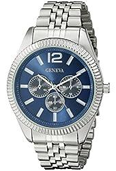 Geneva Men's FMDJM530 Analog Display Quartz Silver Watch