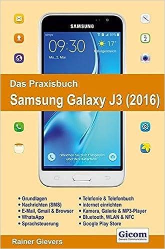 Galaxy j3 6 bedienungsanleitung
