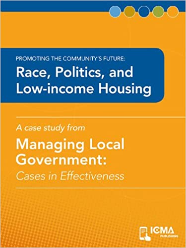 Race, Politics, and Low-income Housing: Cases in