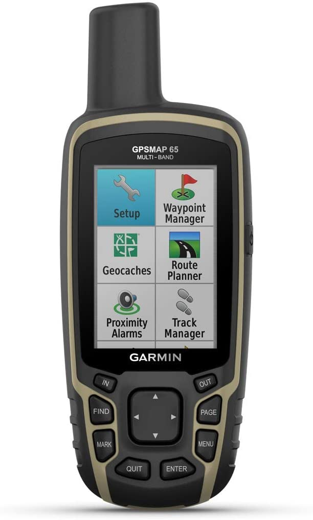 Garmin GPSMAP 65 Handheld GPS With Protective Pouch