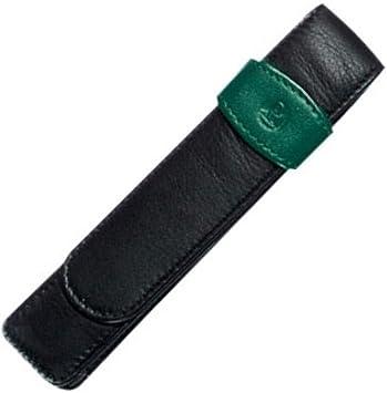 Pelikan Porta Canetas de Couro Verde para