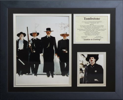 Legends Never Die Tombstone II Framed Photo Collage, 11x14-Inch