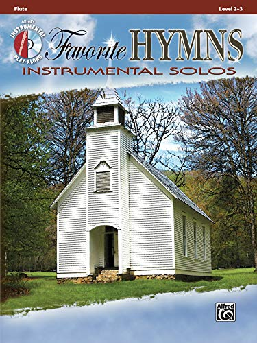 Favorite Hymns Instrumental Solos: Flute, Book & CD (Instrumental Solos Series)