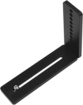 Casualcatch L-Bracket Vertical Plate Quick Release with 1//4and 3//8 Screw for Canon Nikon Nikon Camera Tripod Head