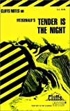 Tender Is the Night, Cliffs Notes Staff, 0822012413