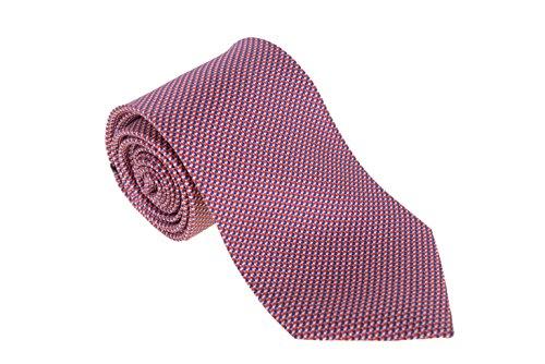 cesare-attolini-napoli-mens-red-blue-textured-handmade-silk-necktie
