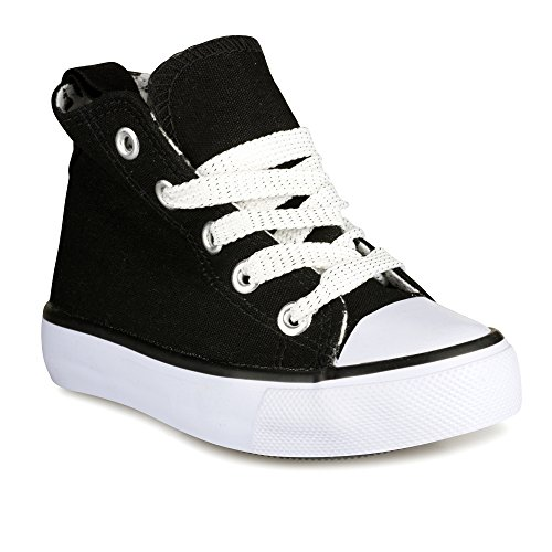 twisted-girls-kix-hi-top-sneaker-black-kixhi01kblack-size-7