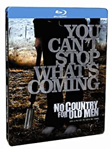 No Country for Old Men Steelbook (Steelbook Edition) [Blu-ray]