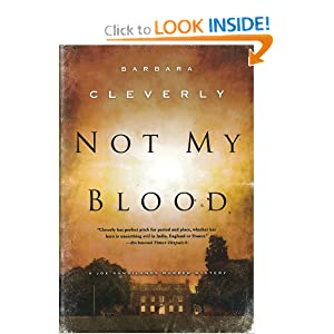 Not My Blood Barbara Cleverly