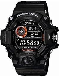 Men's GW-9400BJ-1JF G-Shock Master of G Rangeman Digital Solar Black Carbon Fiber Insert Watch