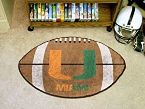 "Brand New Miami Football Rug 22""x35"""