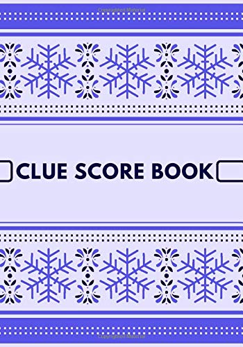Clue Score Book: Unique Clue Board Game Scoring Sheet, Score Sheet Notebook for Indoor Games, Gifts for Players, Mystery Game Lovers, Friends, Ideal ... Vacation, Clue Board Game Scorebook: Amazon.es: Journals, Graceland:
