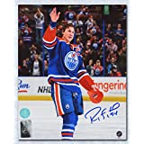 Ryan Smyth Edmonton Oilers Autographed Final Game Wave 8x10 Photo