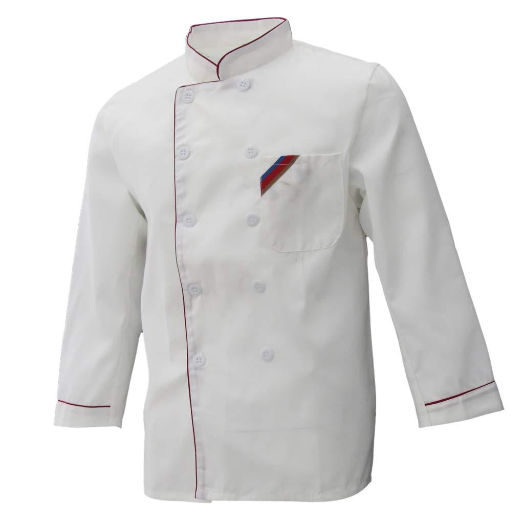 Chaqueta de Chef para Hombre Uniforme Cocinero Piezas de Automóvil ...