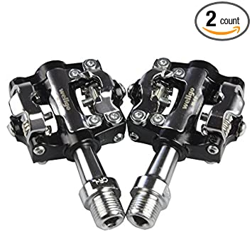 Wellgo Dual Sided Spd Clipless Pedals Mountain Bike