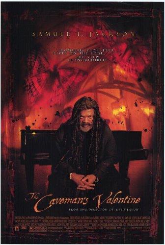 Caveman's Valentine Poster 27x40 Samuel L. Jackson Aunjanue Ellis Colm Feore