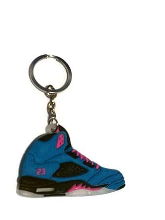 Amazon.com: Air Jordan 5/V AJ5 Tropical Teal/Digital Rosa ...