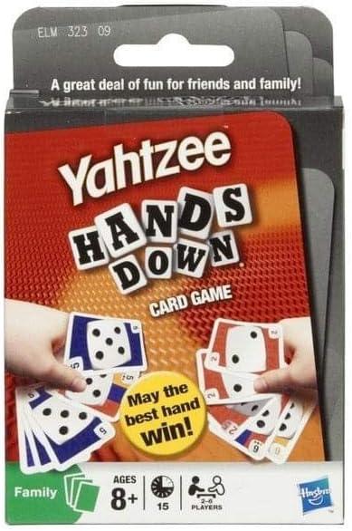 Yahtzee Hands Down Card Game: Amazon.es: Juguetes y juegos