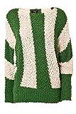 Streifen-Pullover mit Pailletten