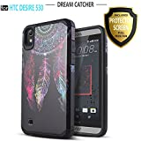 HTC Desire 555 Case, HTC Desire 530 Case, HTC Desire 630 Case, Starshop [Shock Absorption] Dual Layers Impact Advanced Protective Cover With [Premium HD Screen Protector Included] [Dream Catcher]
