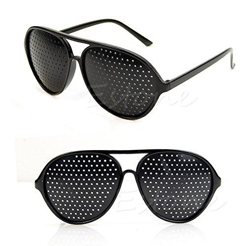 LANDUM Anti-Fatigue Vision Care Eyesight Improver Pinhole Glasses Hole EYE Glasses NEW
