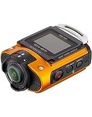 Ricoh WG-M2 compacte en lichte actioncam (4K-video, 204 graden ultragroothoeklens) oranje