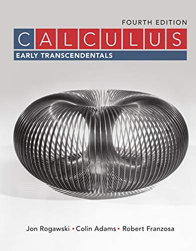 Calculus Early Transcendentals Book By Jon Rogawski