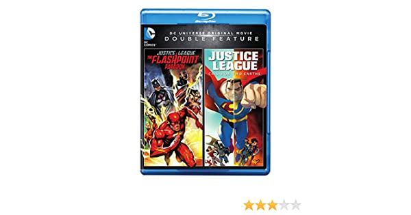 Dcu: Justice League - Flashpoint Paradox / Dcu: 2 Blu-Ray ...