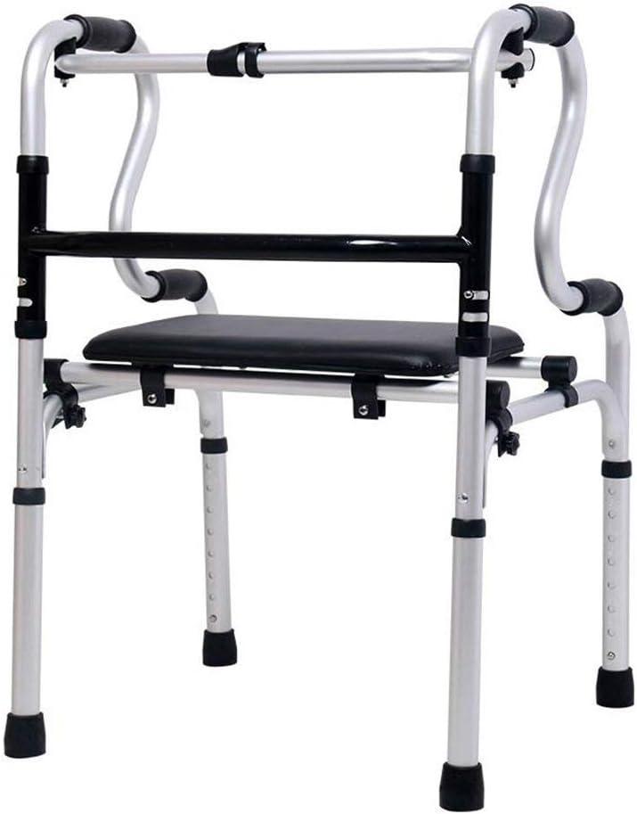 ZYL-IL Muletas Mayores Silla Walker multifunción bastón de Movilidad Reducida bipedestador Antideslizante bastón con el Hospital