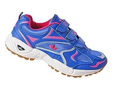 Lico Bob V Teens Schuhe Kinder Klettverschluss Turnen Hallenschuhe Sport blau 40