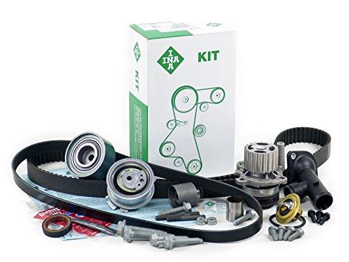 BLAU GH21137 Vw Jetta V Timing Belt Kit and Oil Change Kit - 2009-10 w/ 4 Cylinder 2.0L TDI Diesel Engine - Gen II - Enhanced (2009 Volkswagen Jetta Diesel)