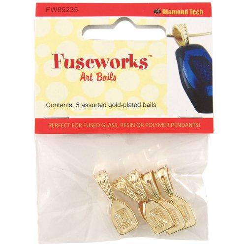FUSEWORKS Art Bails, Gold
