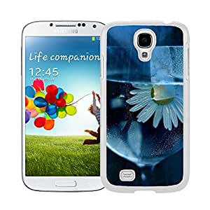 Daisy, Flower, Glass, Water Samsung Galaxy S4 i9500 Case White Cover