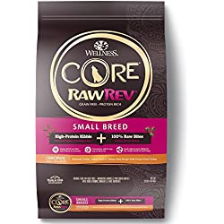 Wellness Natural Pet Food Core Small Breed Dry Original Turkey Freeze Dried Turkey Dog Food, 10 lb