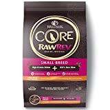 10 Pounds Dog Food - Wellness Core Rawrev Natural Grain Free Small Breed Dry Dog Food, Original Turkey & Chicken With Freeze Dried Turkey, 10-Pound Bag