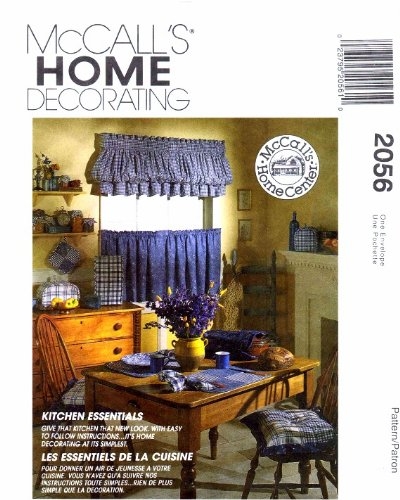 - McCall's 2056 Sewing Pattern Kitchen Appliance Covers Oven Mitt Casserole Cover