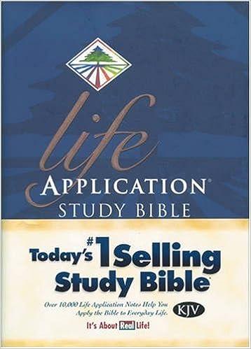 Life Application Study Bible KJV - NLT: Tyndale: 9780842320948