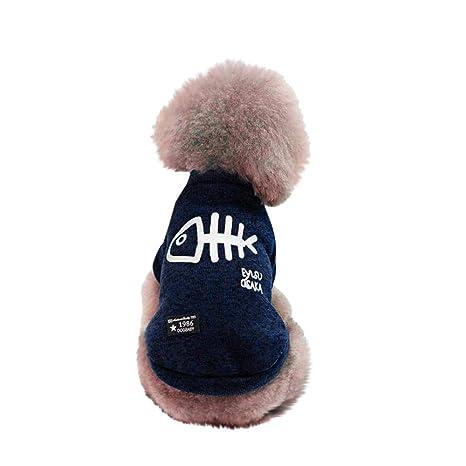 Ropa para Perros, Gusspower Perro Mascota Cachorro clásico suéter Polar suéter Ropa Caliente suéter de