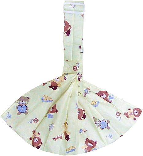 Los Bebés Carrier Transpirable De Tela Cruzada Diseño Oso Feliz ...