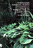 Herbaceous Perennial Plants : A Treatise on Their Identification, Culture and Garden Attributes, Armitage, Allan M., 0875638104