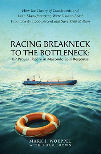 Racing Breakneck to the Bottleneck: BP Proves Theory in Macondo Spill Response: How the Theory of Constraints and Lean Manufacturing Were Used to Boost ... 1,000 percent and Save $700 Million -