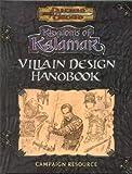 Villain Design Handbook (Dungeons & Dragons: Kingdoms of Kalamar Supplement)